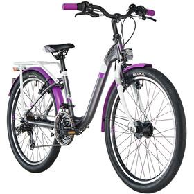 s'cool chiX 24 21-S alloy Kids darkgrey/violett matt